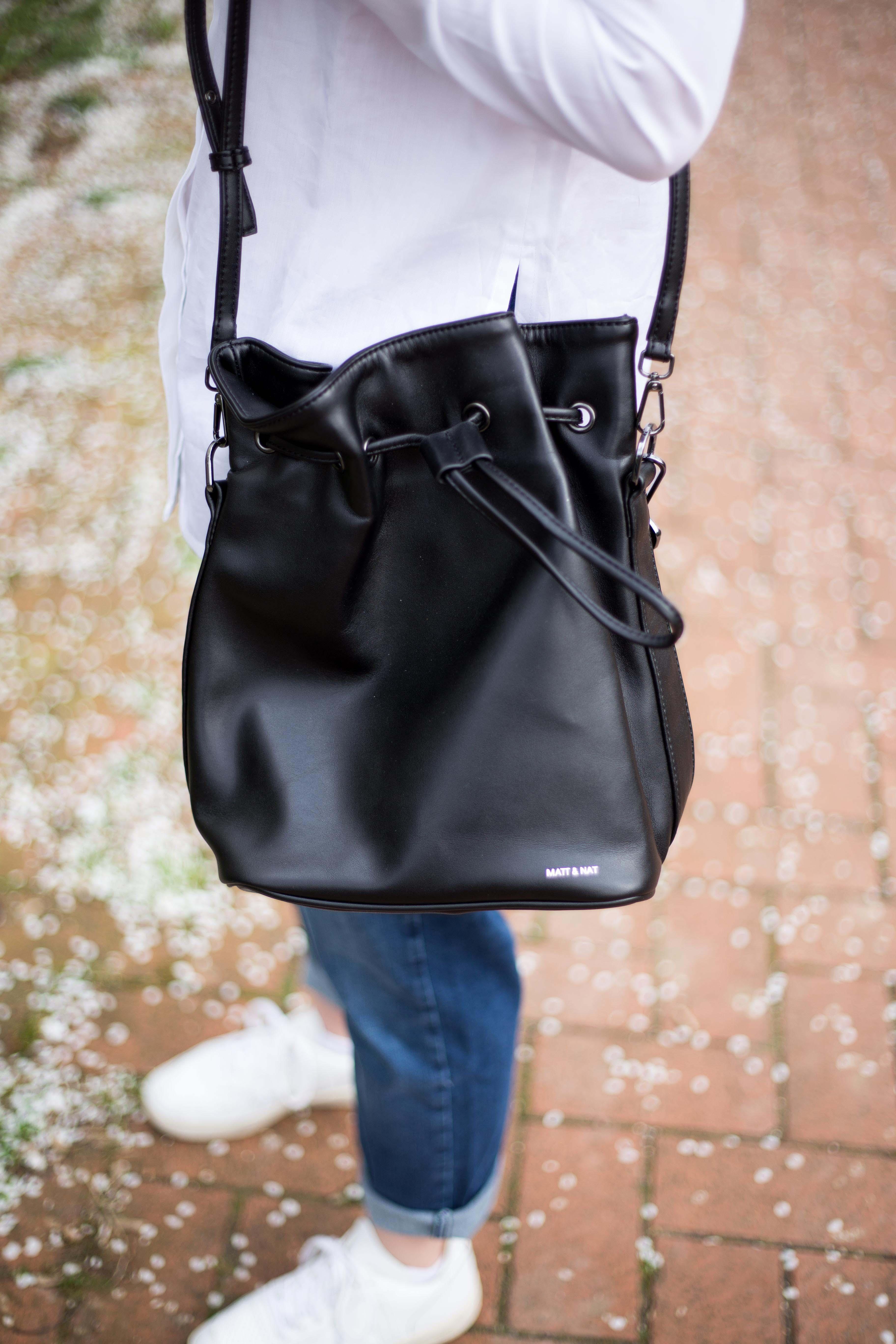 Schwarze Tasche Matt & Nat