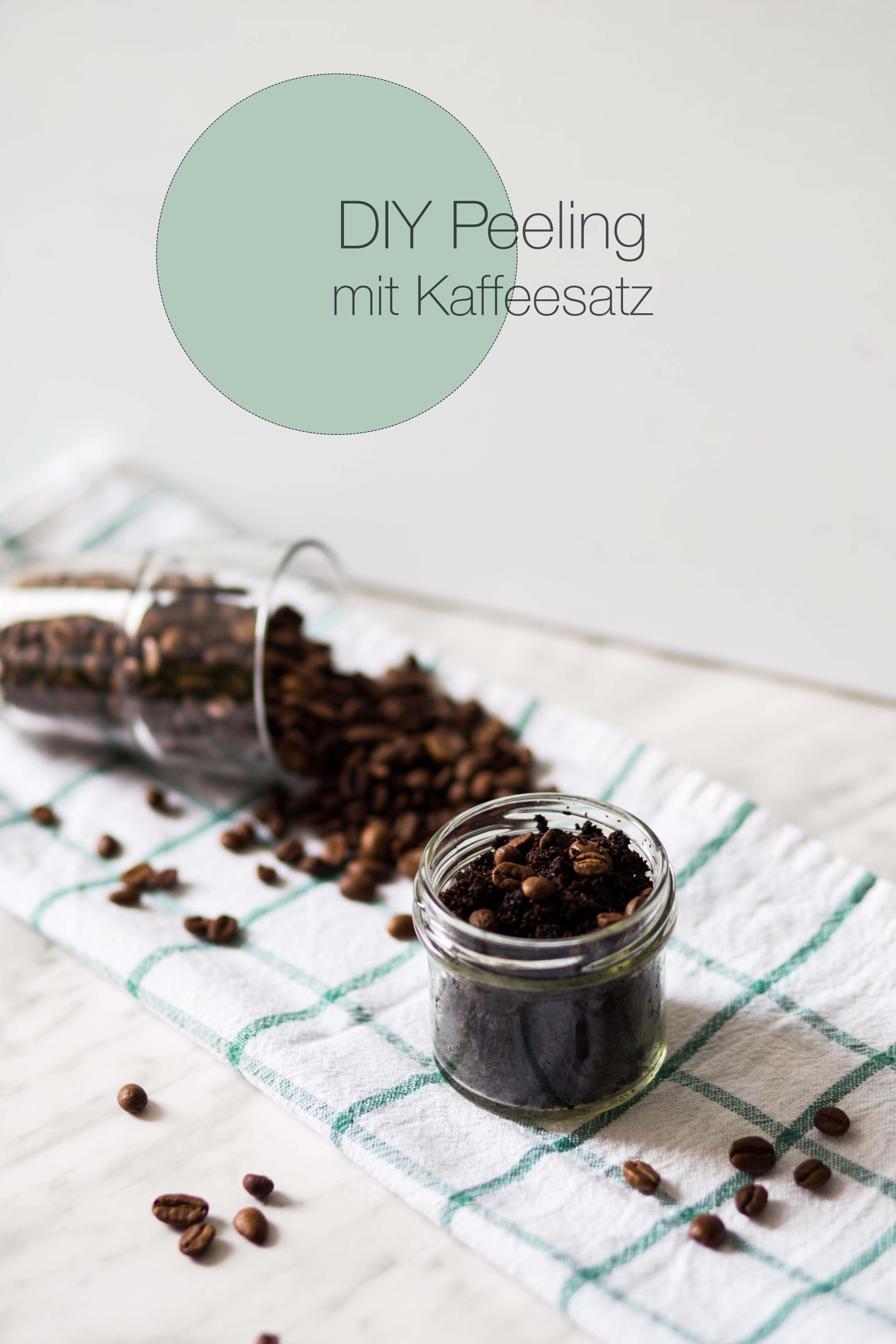DIY Peeling mit Kaffeesatz