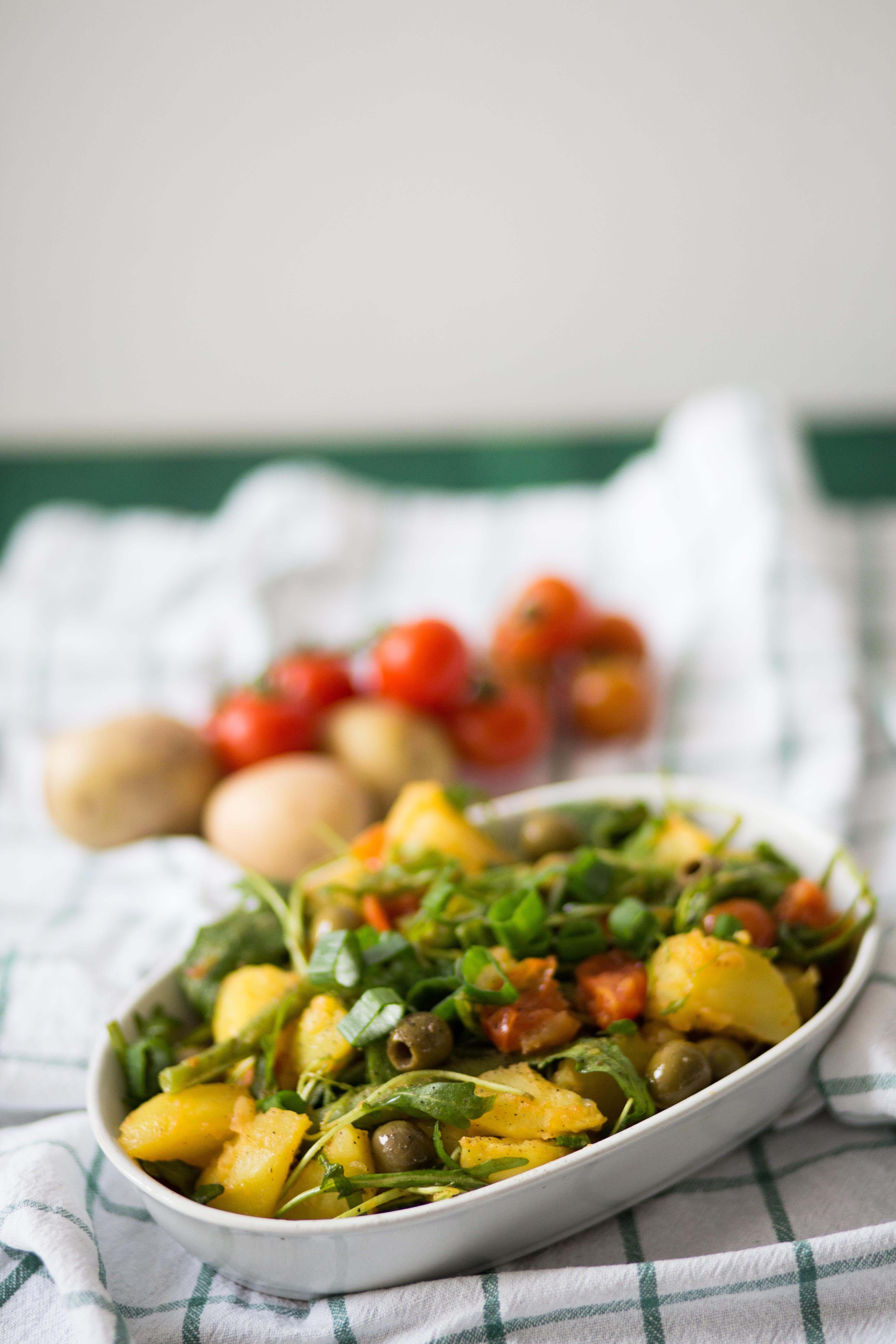 Vegan Food: Kartoffelsalat