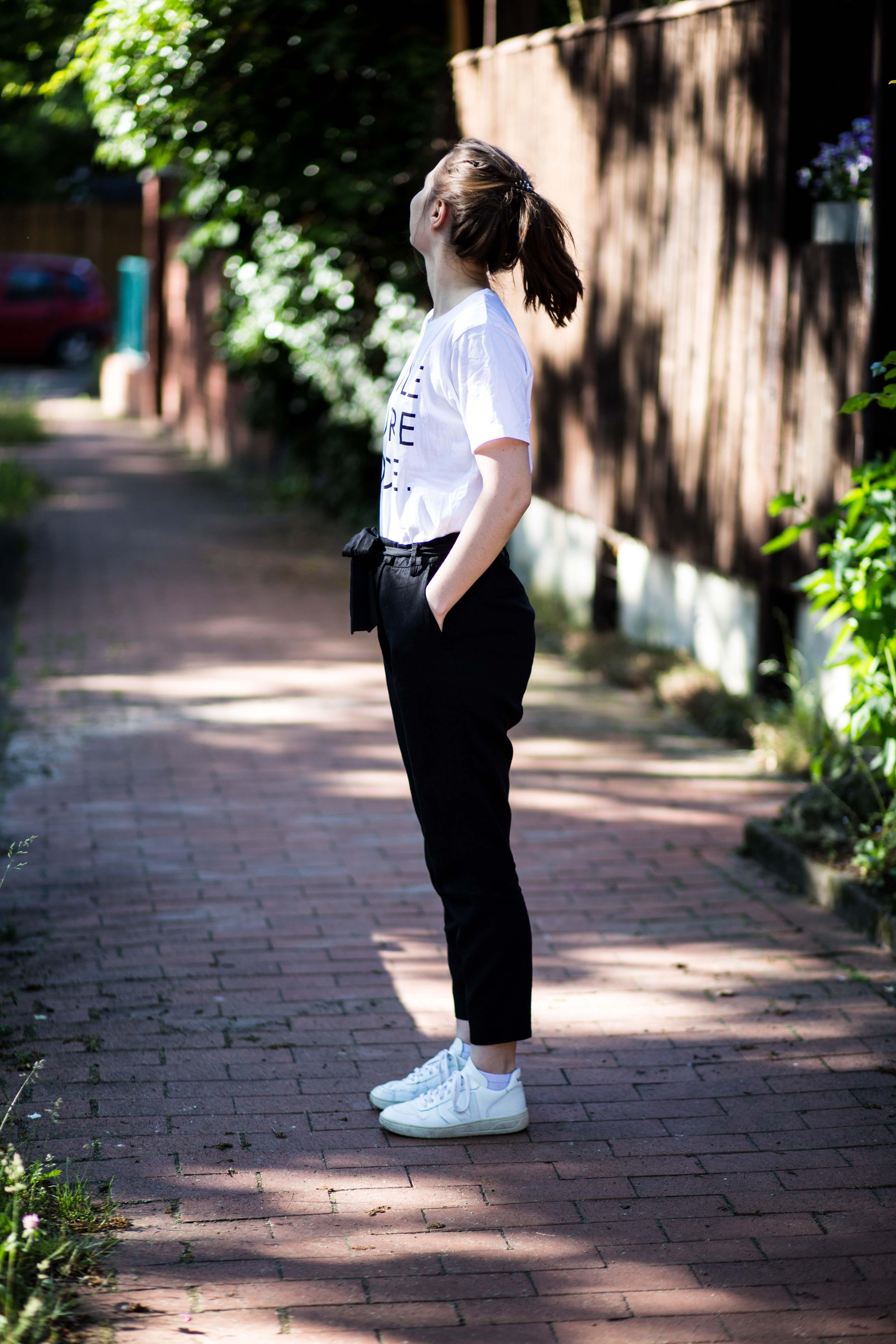 Fair Fashion Outfit Female