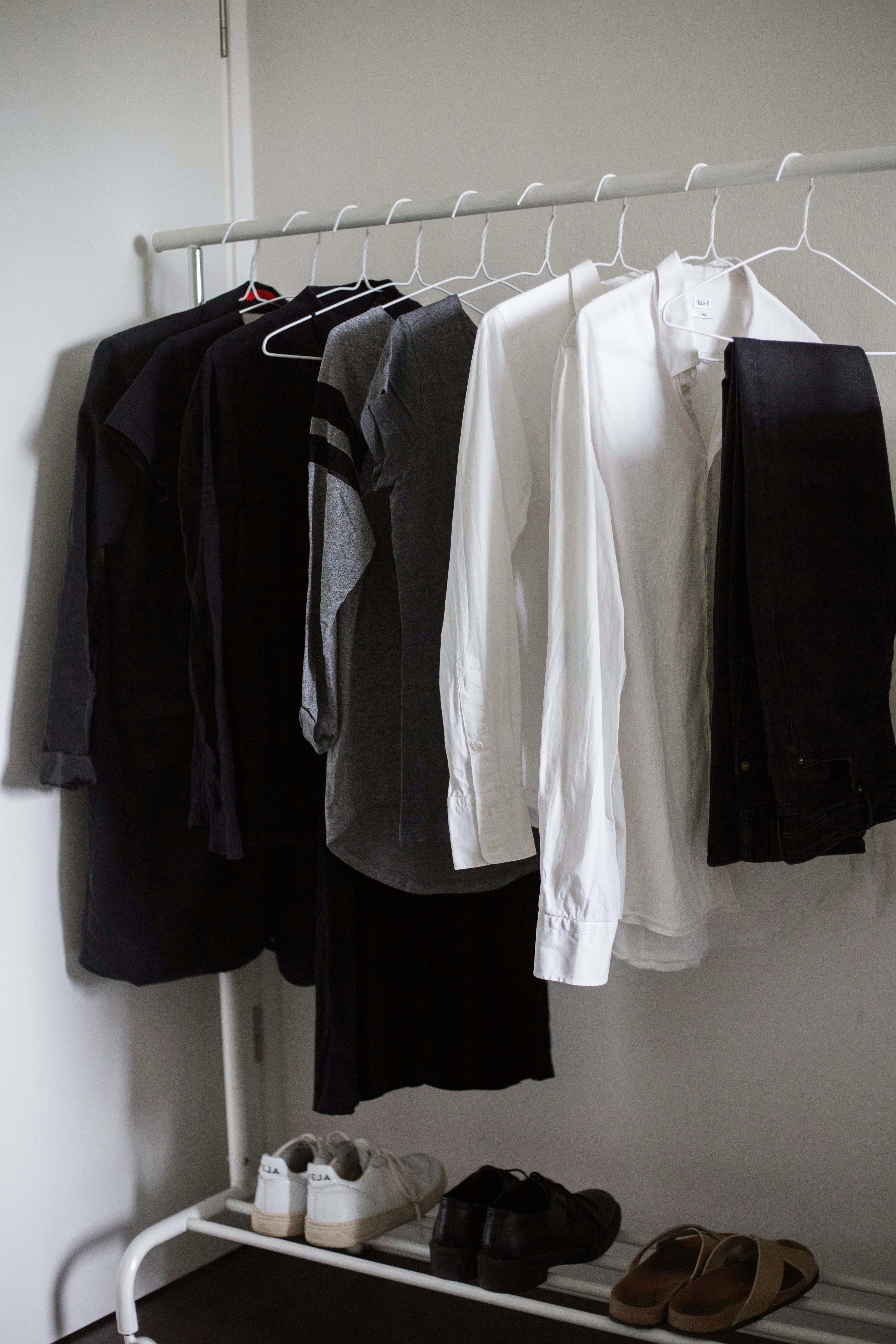 Minimalismus Im Kleiderschrank Capsule Wardrobe X Fair