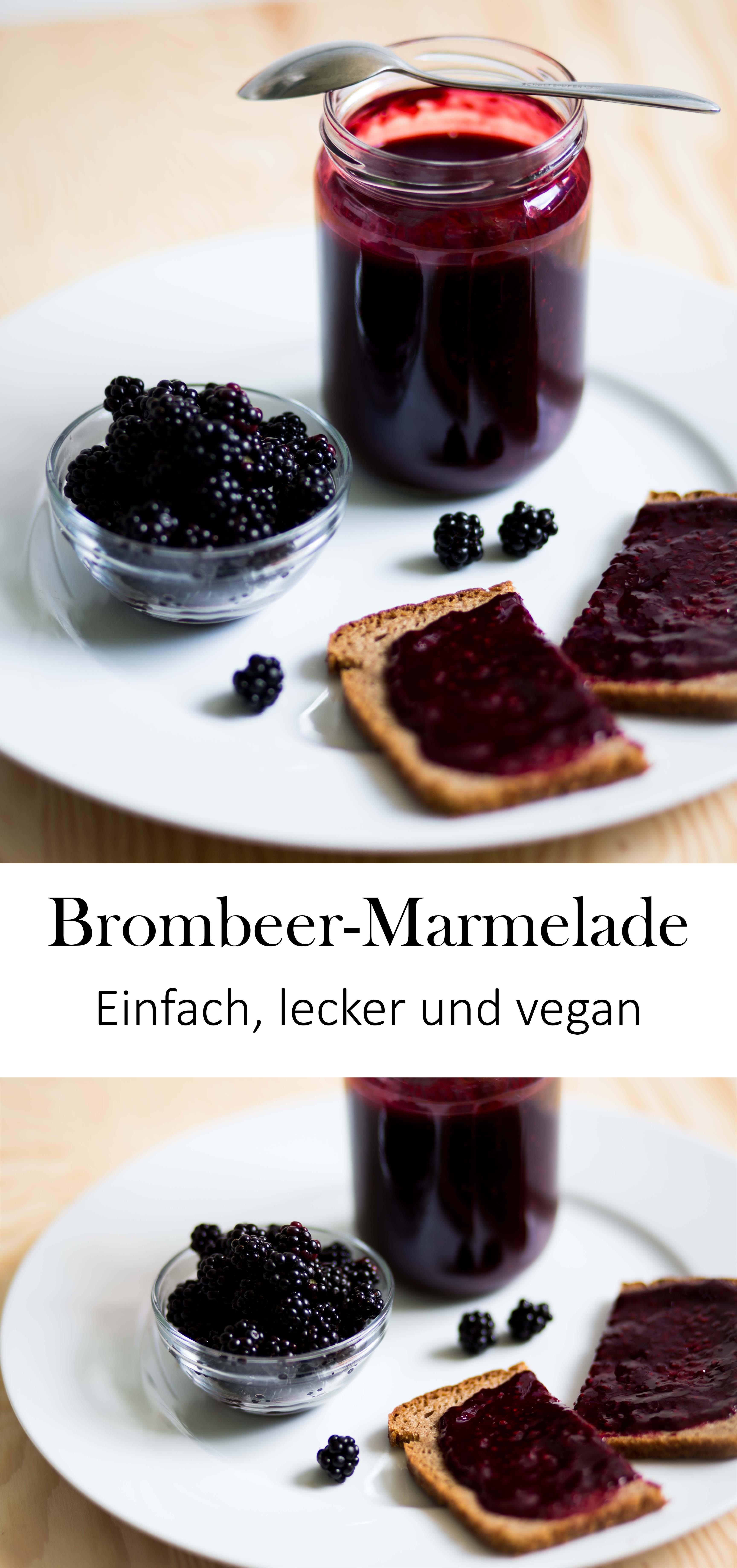 Einfache Brombeer-Marmelade Sommer