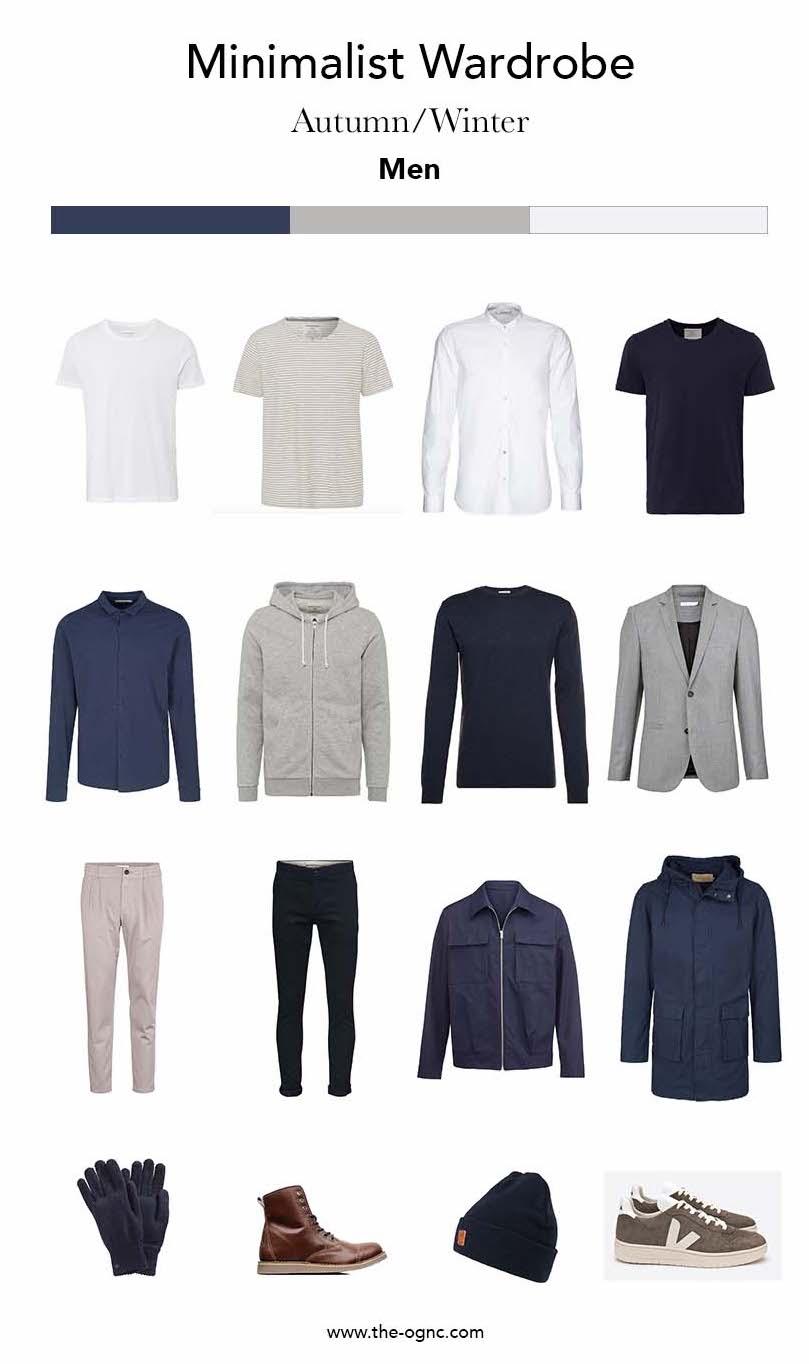 Capsule Wardrobe: Minimalist Wardrobe Men