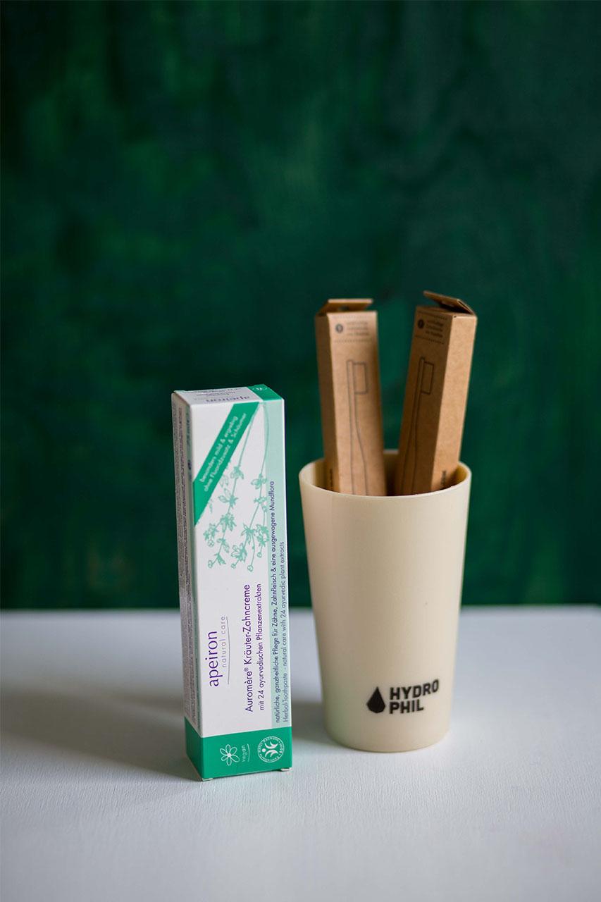 Nachhaltig Zähneputzen
