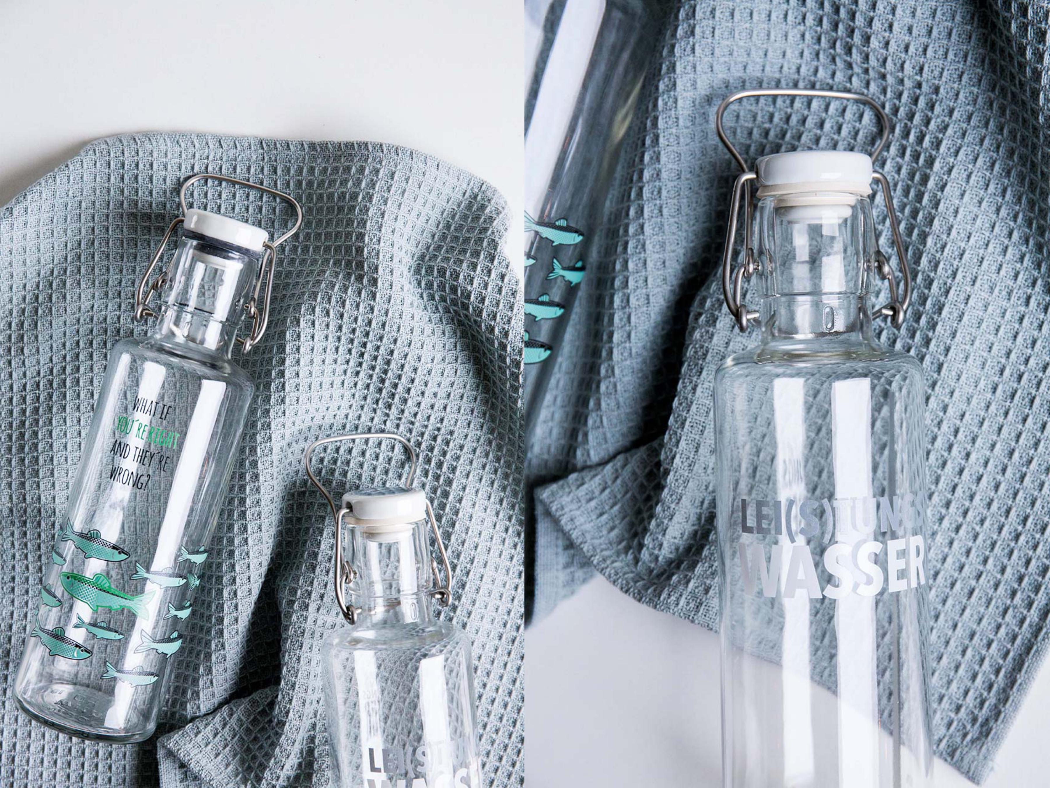 Nachhaltige Alternative zu PET-Flaschen
