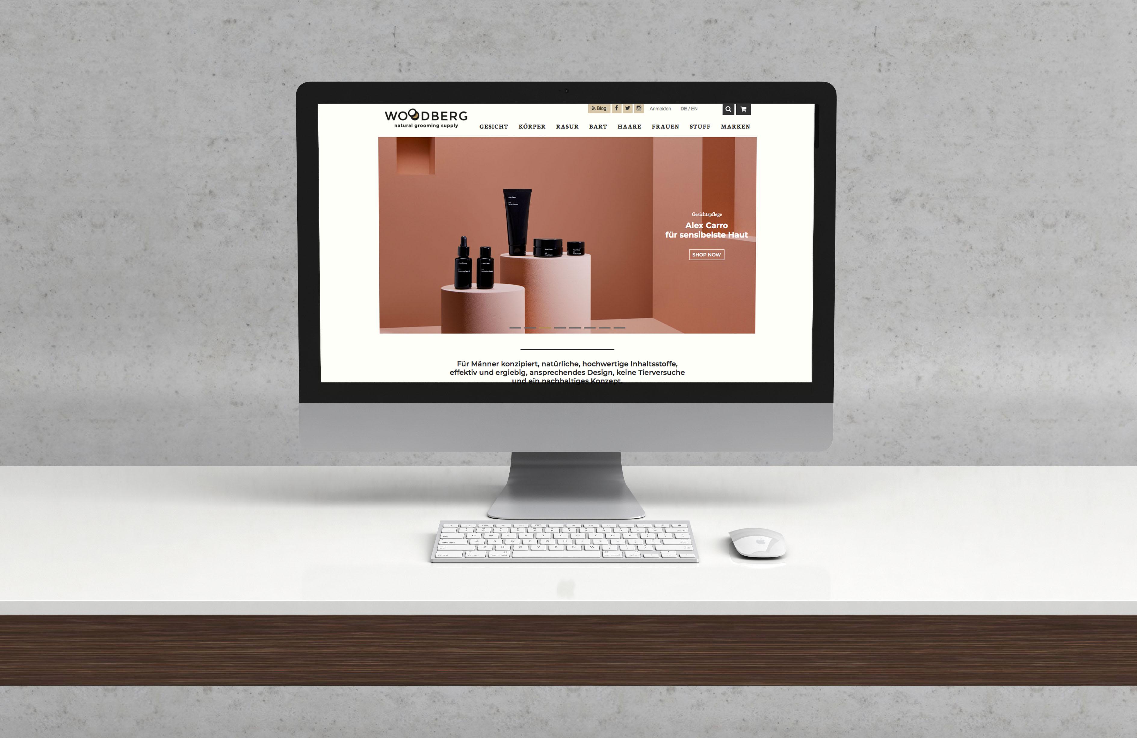 Naturkosmetik Online Shop für Männer