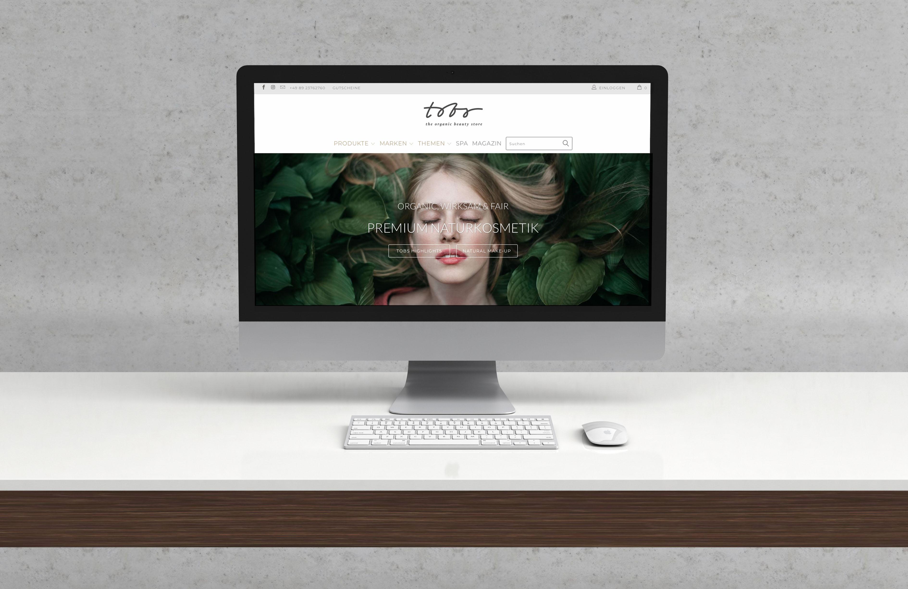 Online-Shop für moderne Naturkosmetik