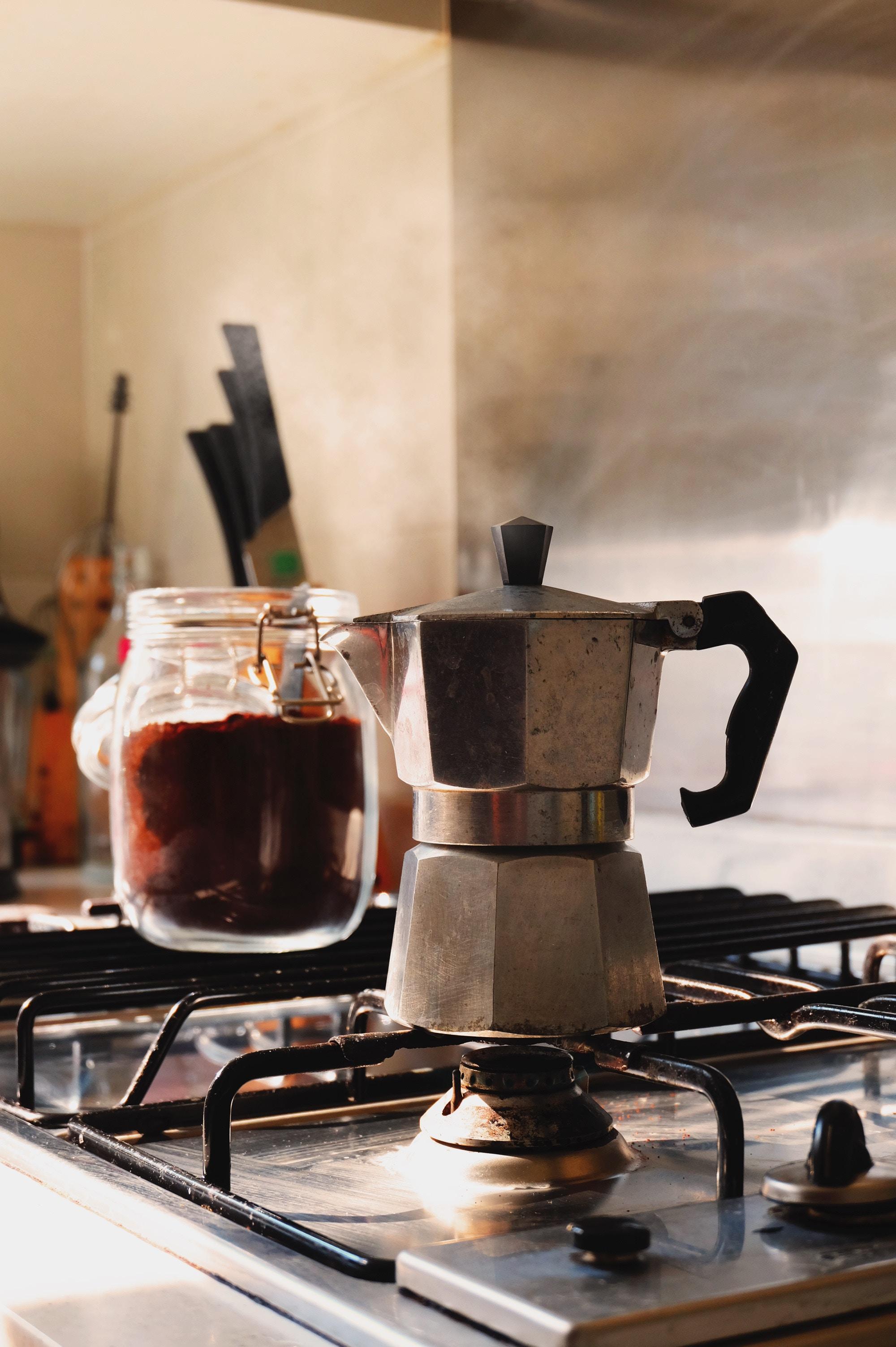 Espresso Kocher - Zero Waste Kaffee
