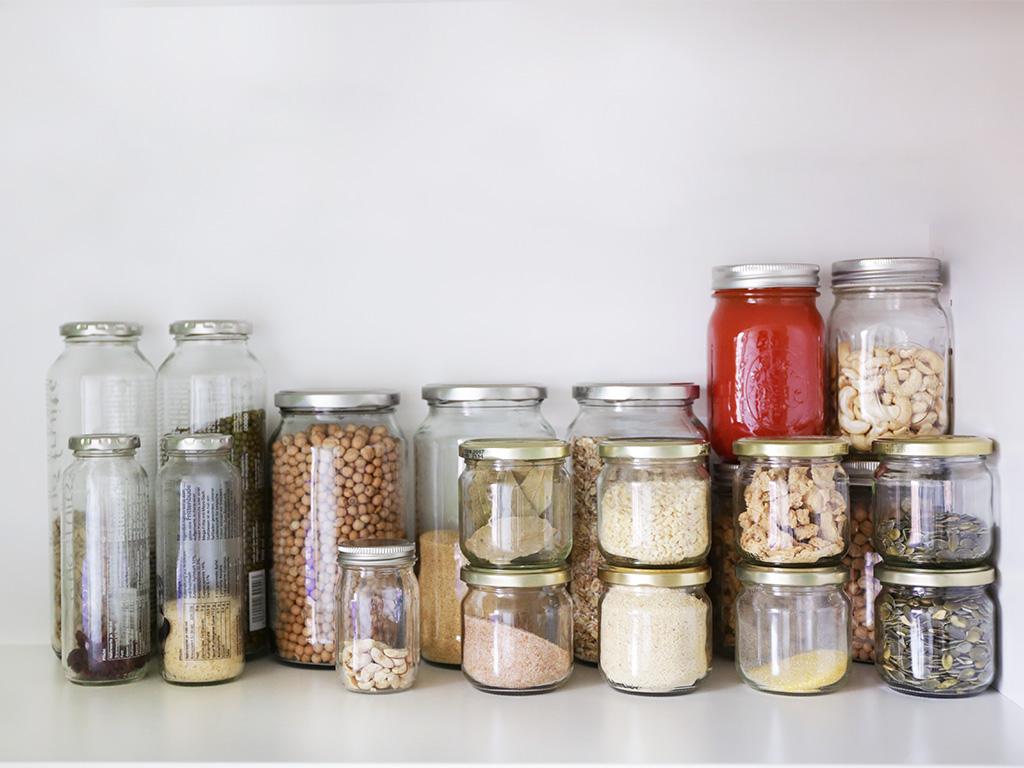 Minimalismus Blogger Lebensmittel Zero-Waste