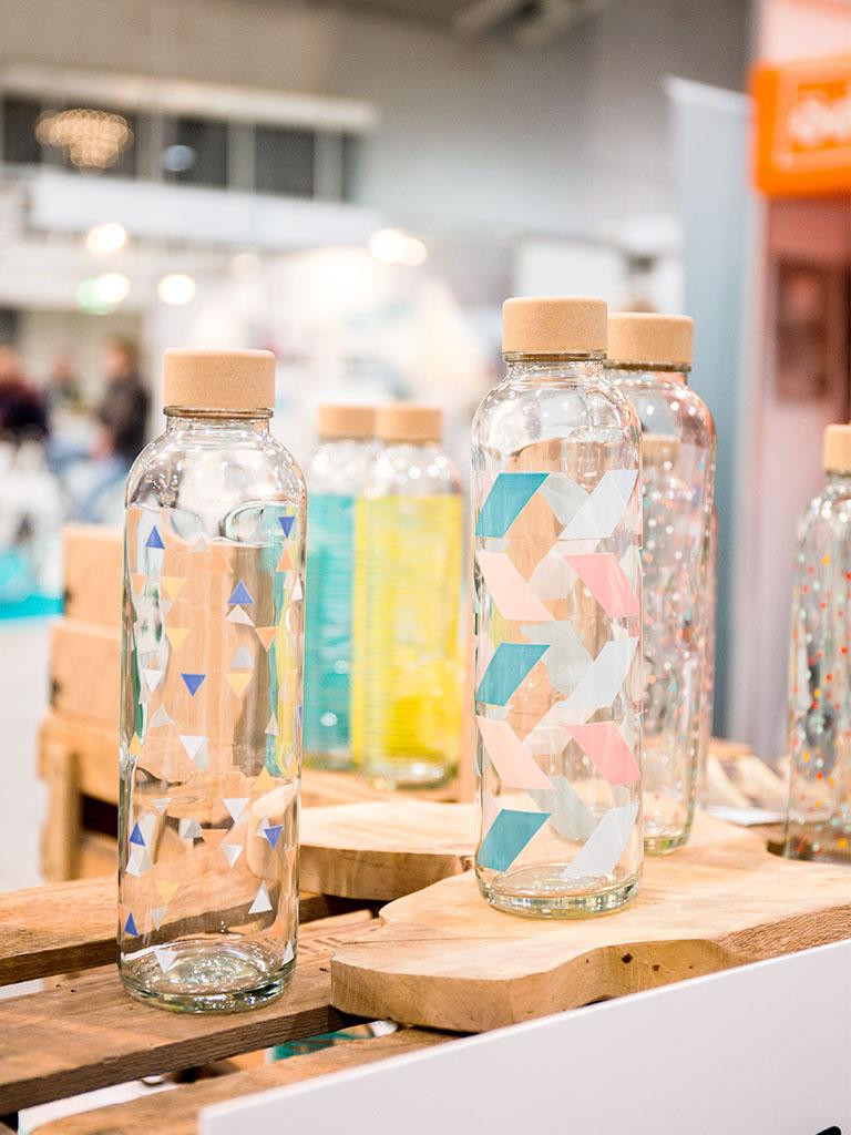 Zero Waste unterwegs: CARRY Glasflasche