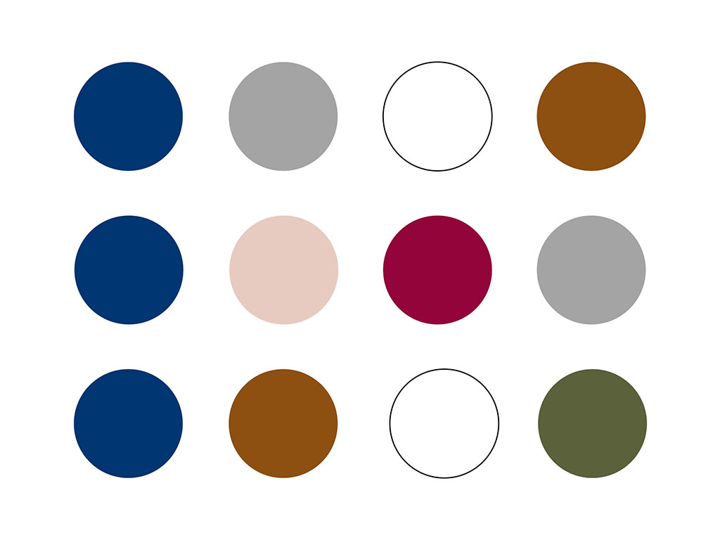 Capsule Wardrobe Farben: Inspiration