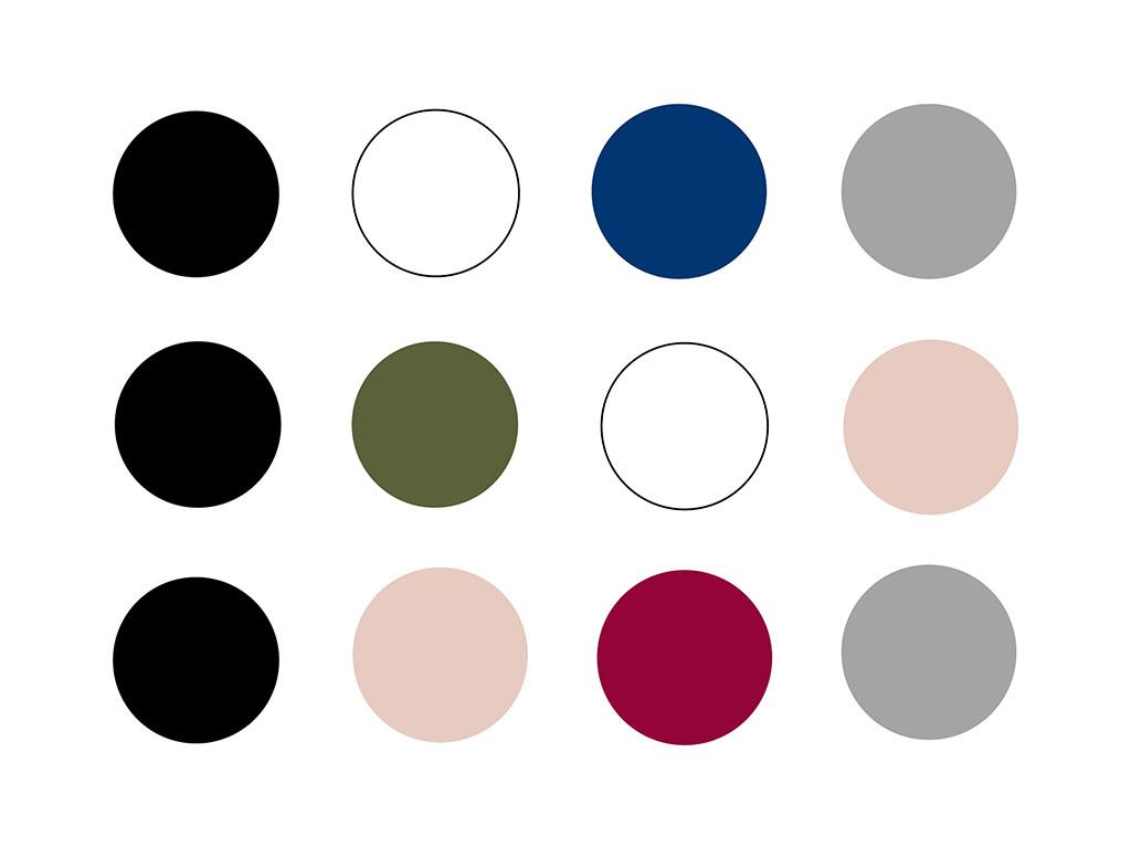 Capsule Wardrobe Inspiration mit schwarz