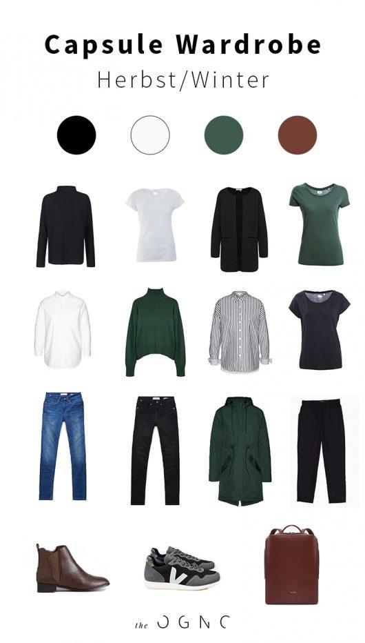 Capsule Wardrobe für den Herbst und Winter