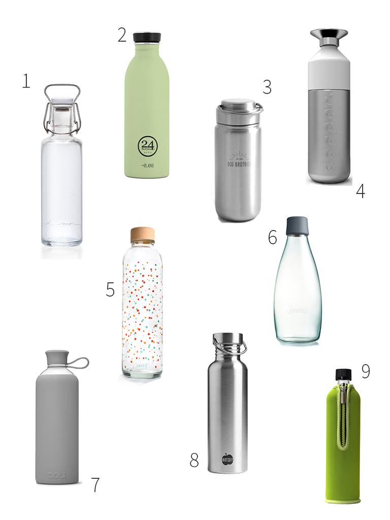Nachhaltige Trinkflaschen: Zero Waste unterwegs