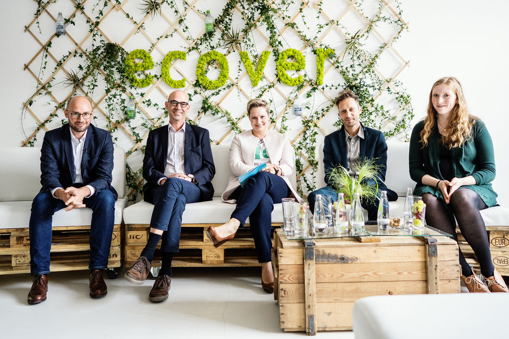 ecover Event: Paneldiskussion mit Janine Steeger