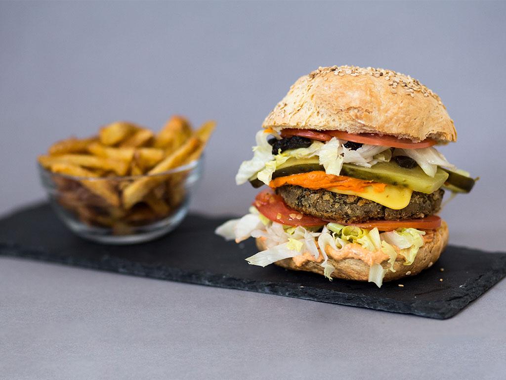 Veganer Burger: The OGNC - Lebensmittelvorrat #eatupchallenge