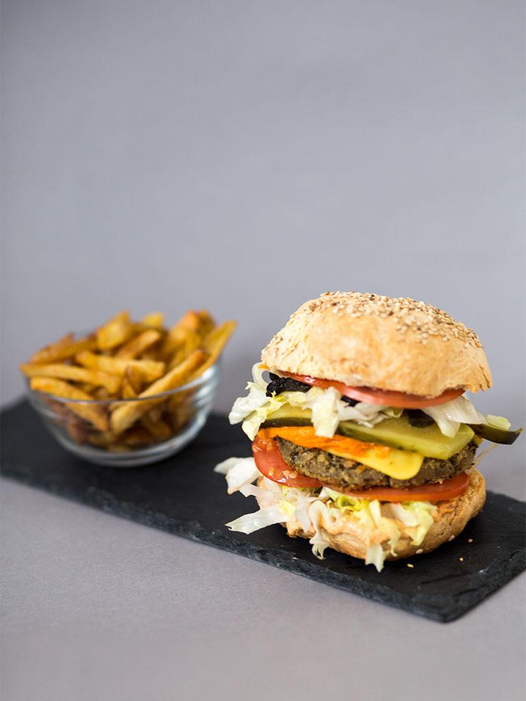 #eatupchallenge Burger vegan