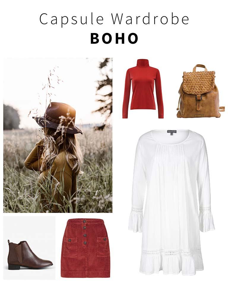 Minimalismus: Boho Wardrobe