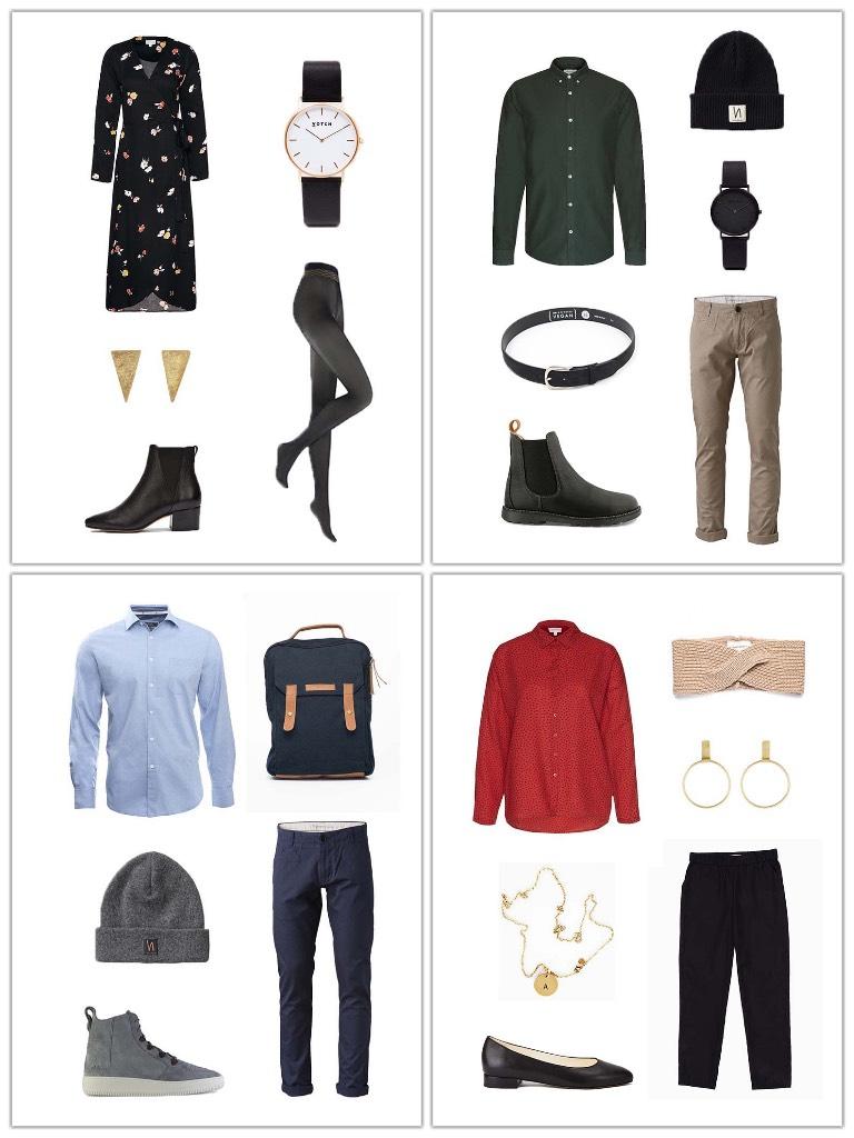 Outfit Inspiration für Weihnachten - Faire Mode Outfits