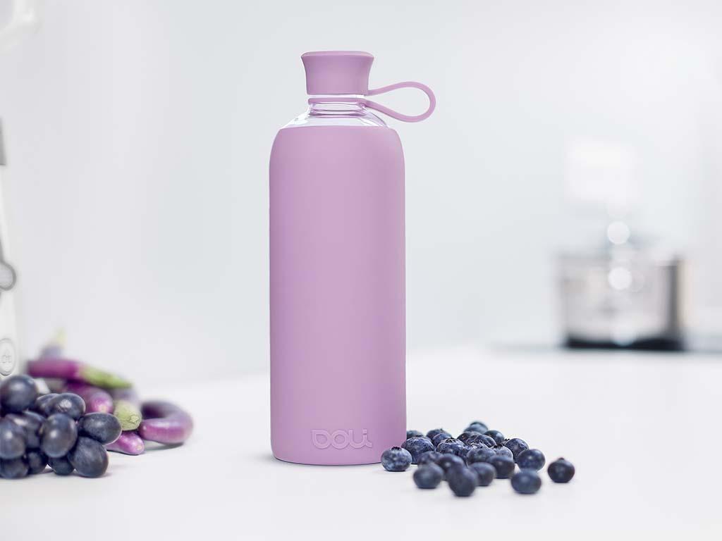 Plastikfrei Leben im Alltag: Trinkflasche von Doli Bottles