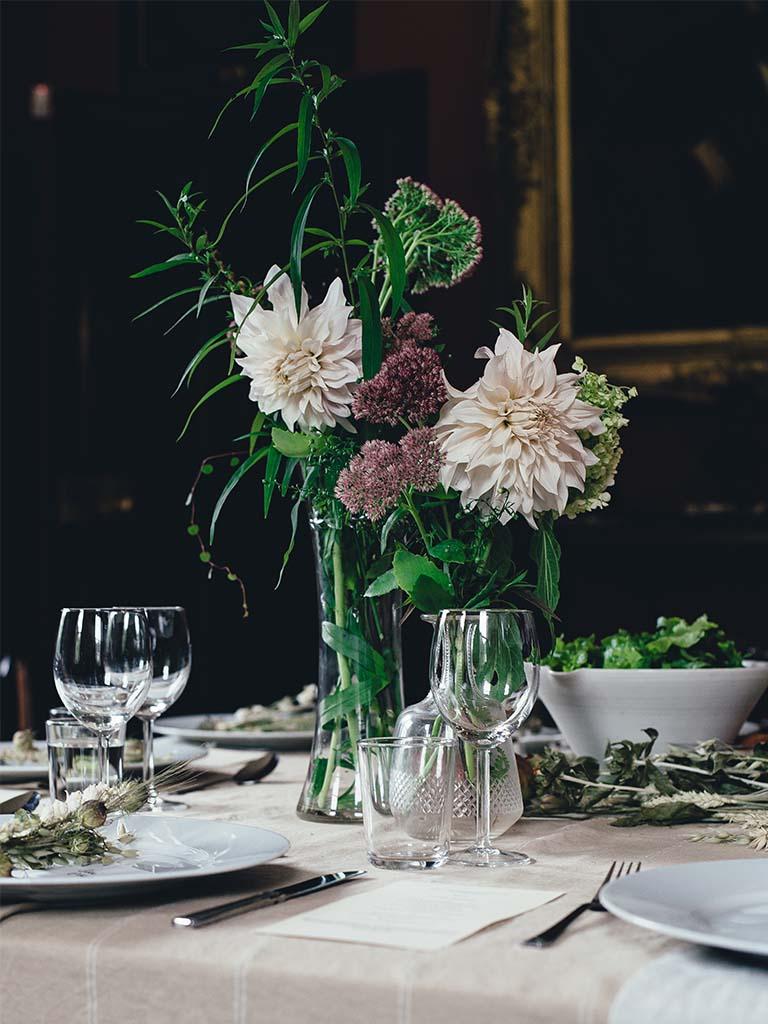 Blumenstrauss: Öko Hochzeit - regional und saisonal