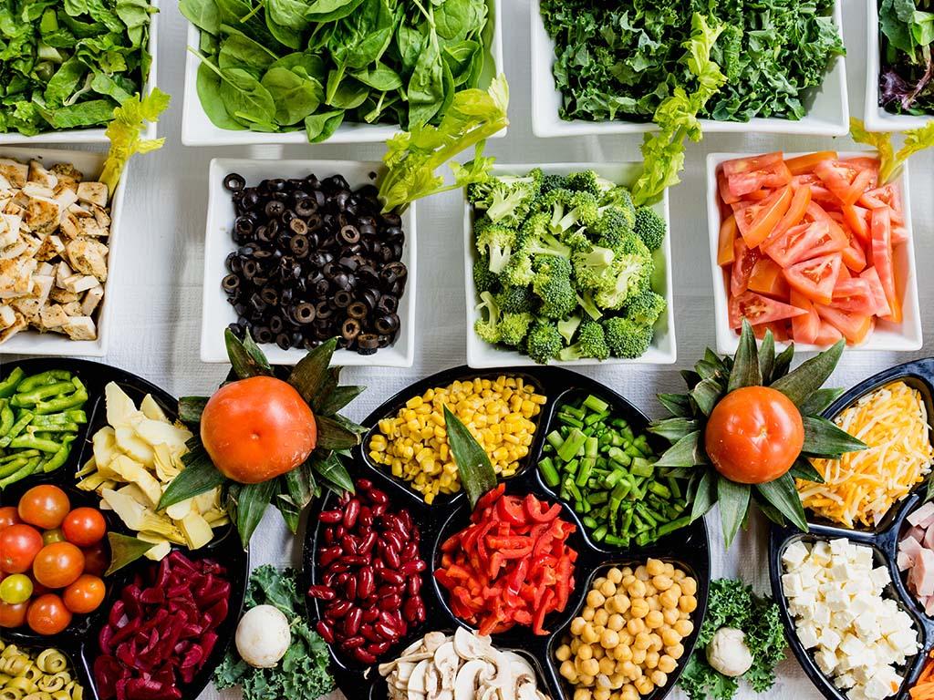 Nachhaltig heiraten: essen vegan vegetarisch