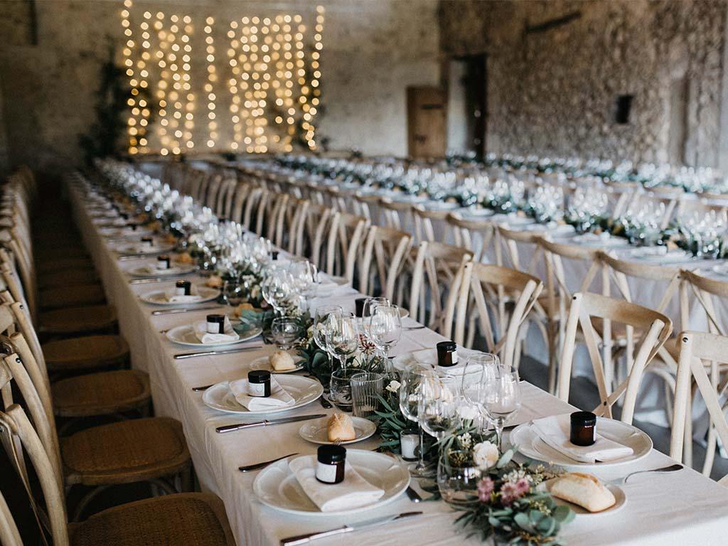 Nachhaltige Hochzeit Dekoration mieten