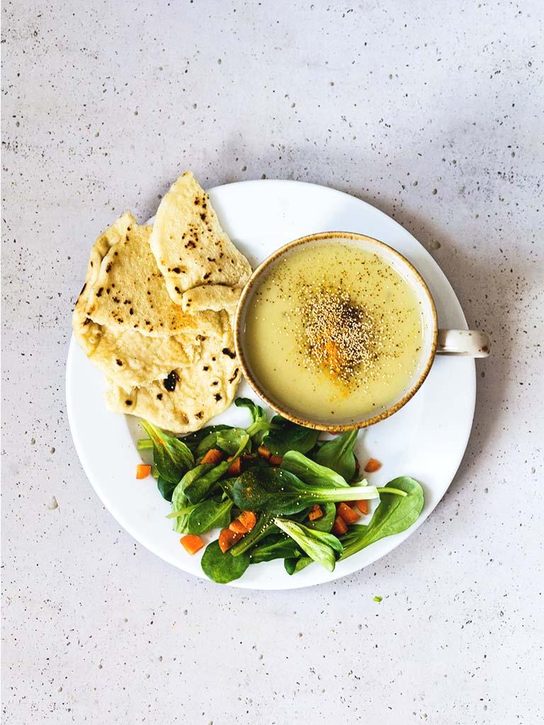 Topinambur-Suppe: Einfach, lecker, schnell und vegan