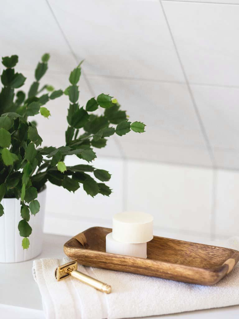 Zero Waste Rasur mit Rasierseife