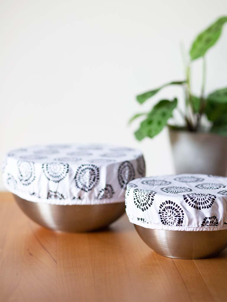 Zero Waste in der Küche: Bowl Cover statt Frischhaltefolie