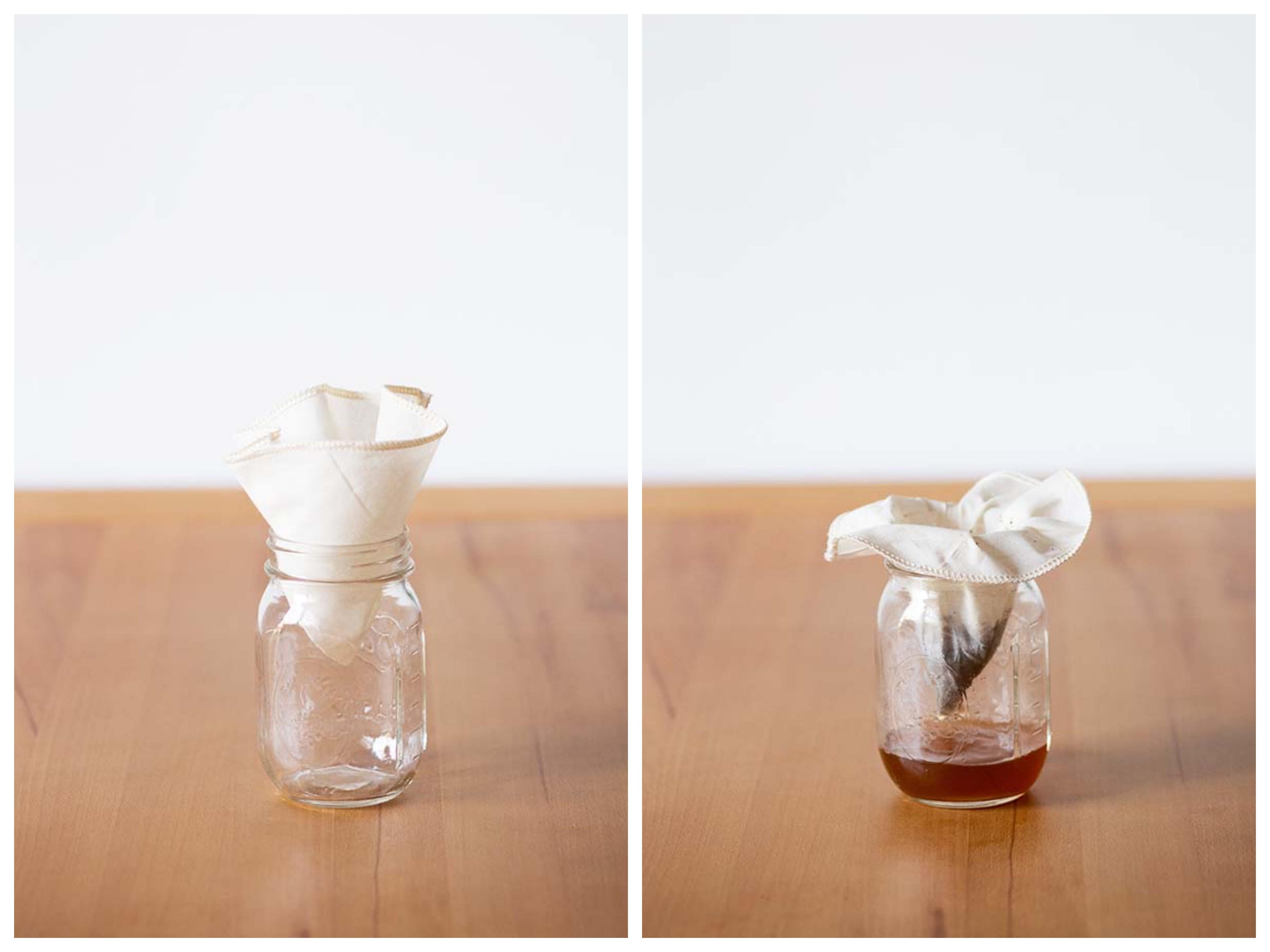 Nachhaltiger Kaffeefilter aus Stoff