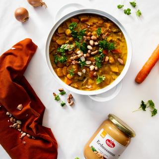 Leckeres Curry mit Erdnussmus von Keimling