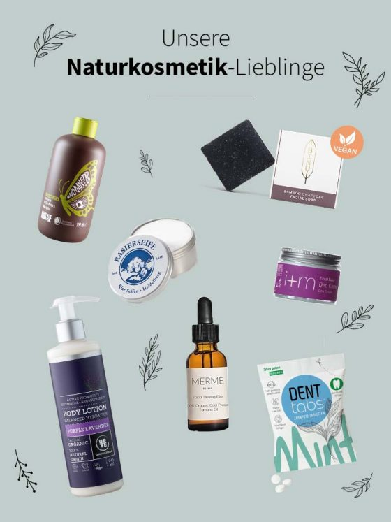 Naturkosmetik Lieblinge Organic Beauty: Less Waste Blogger