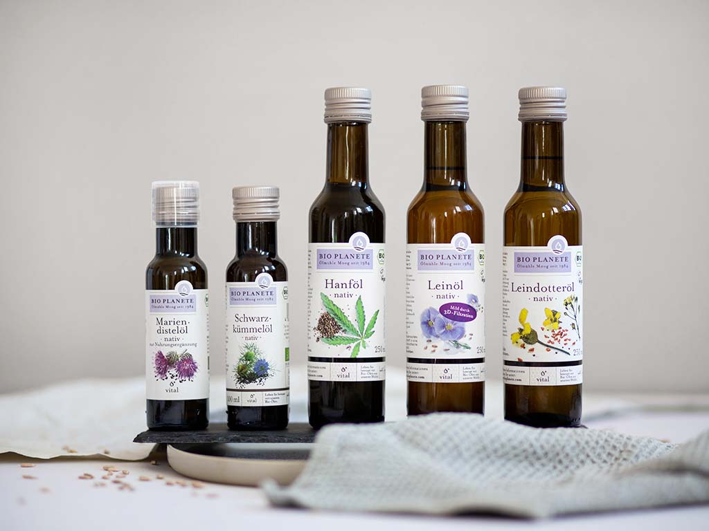 Vital-Öle von BIO PLANÈTE: reich an Omega-3-Fettsäuren