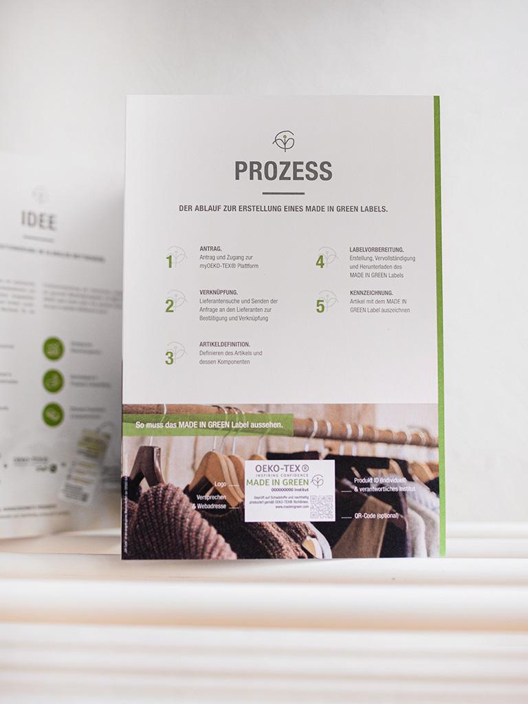 OekoTex Textilsiegel: der Prozess