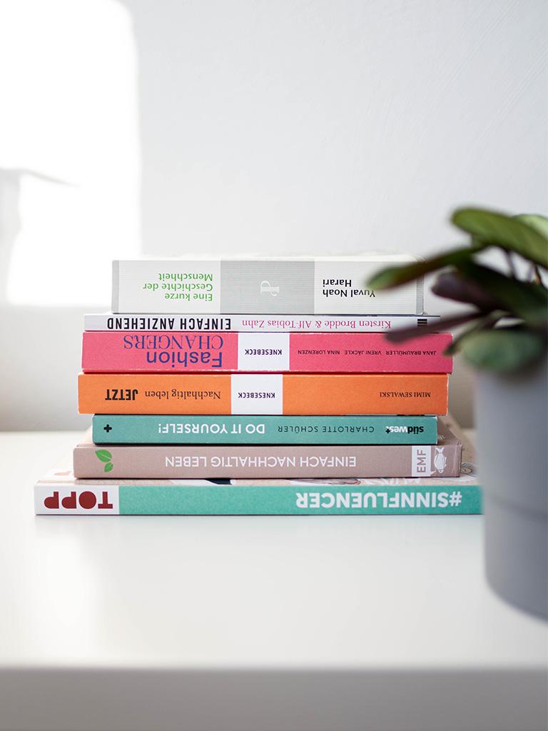 Unsere liebsten Bücher über Zero Waste, Nachhaltig und fairer Mode