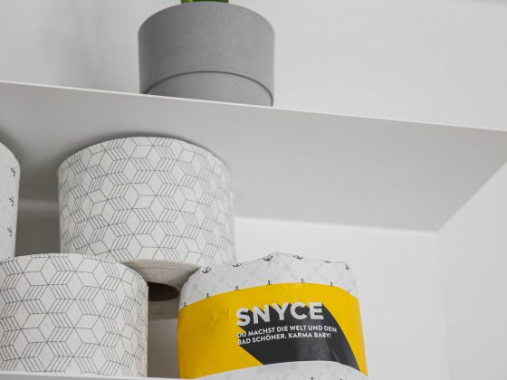 Nachhaltiges Toilettenpapier ohne Plastik
