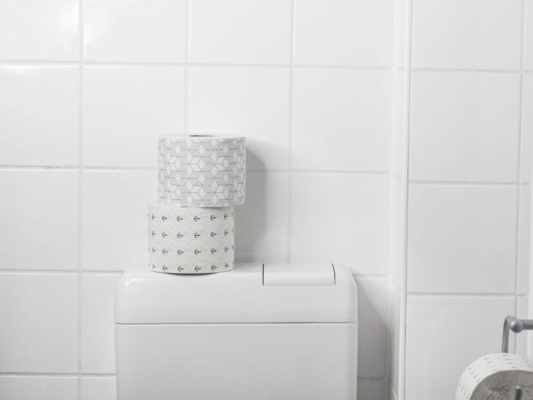 Plastikfrei und recycelt: Toilettenpapier von SNYCE